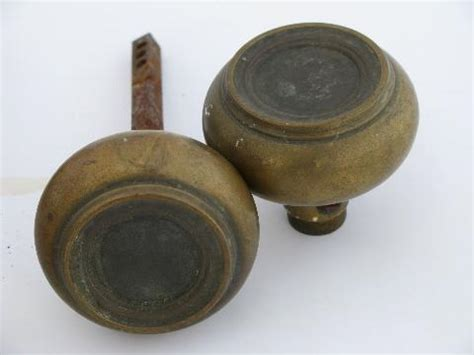 Arts And Crafts Door Knobs by Lot Of Antique Arts And Crafts Vintage Solid Brass Bronze