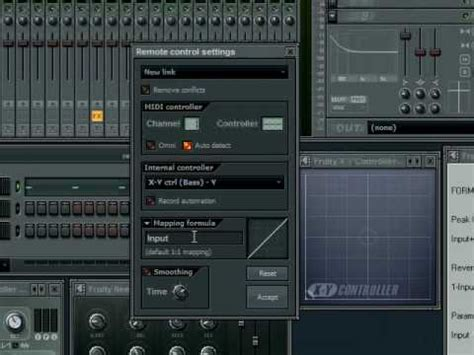 fruity x y controller tutorial make an electro bassline in fl studio synthtopia