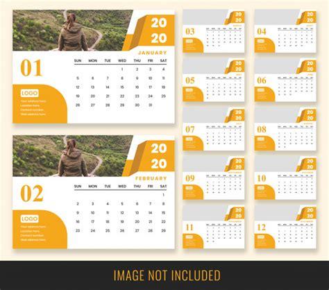 desk calendar  template psd file premium
