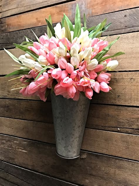 Tulip Planter by Tulips Pink Tulips Door D 233 Cor