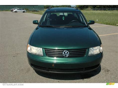 1999 Volkswagen Passat Wagon by 1999 Royal Green Pearl Volkswagen Passat Gls Wagon