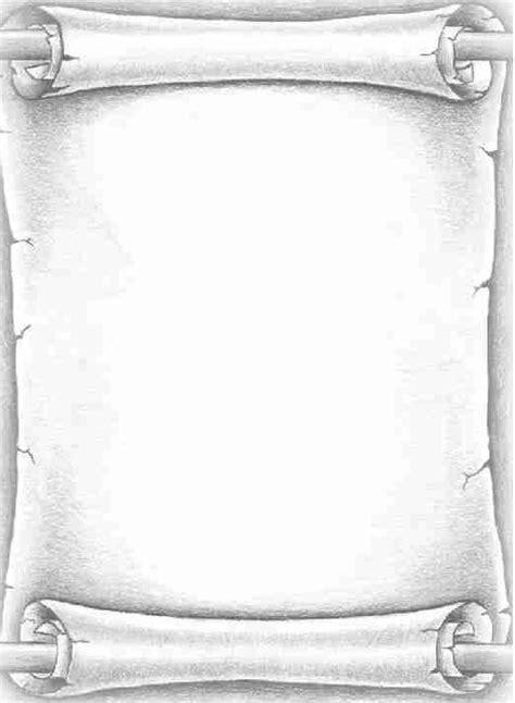 scroll blank bos printable frames etc pinterest