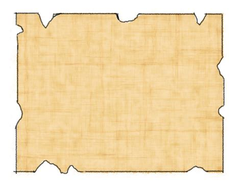 blank treasure map template