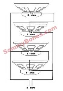 wiring diagrams for 4 8 ohm speakers get free image about wiring diagram