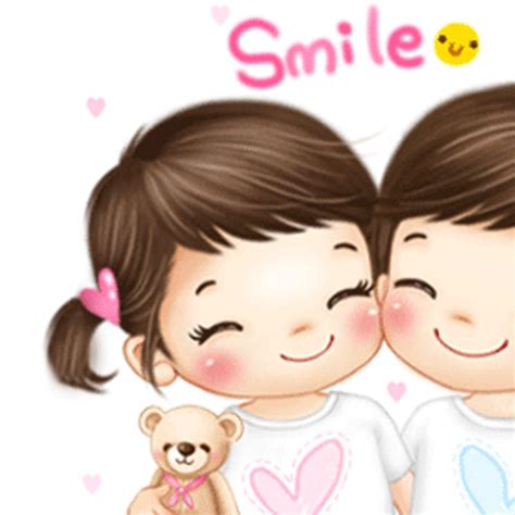 cartoon kissing wallpaper desktop cute kissing cartoon wallpaper