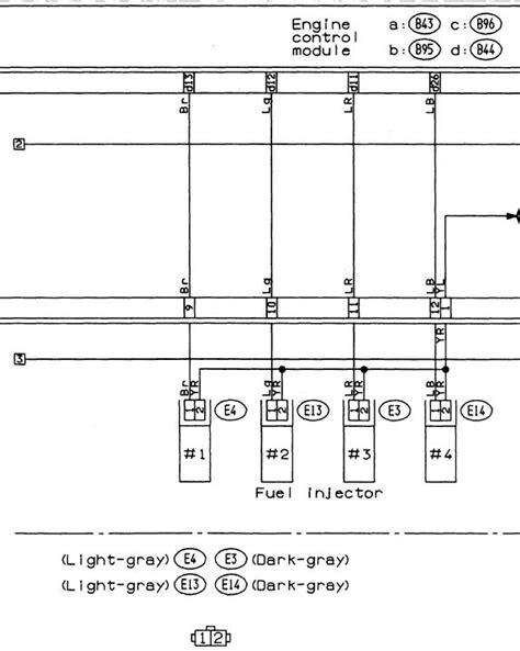 EJ20G injector wiring - NASIOC