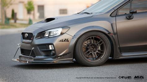 widebody wrx ml24 subaru wrx and sti 2015 wide body fender flares