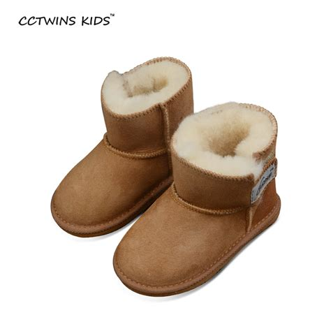 boots for baby aliexpress buy cctwins 100 sheepskin winter