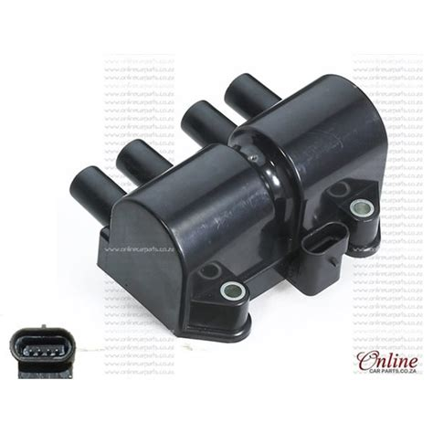 daewoo lanos ii 1 4i a14 sms ignition coil 00 04