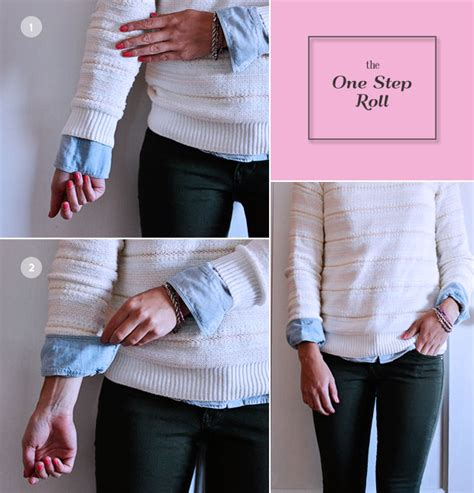 Baju Lovely Top Aj 5 ways to roll sleeves