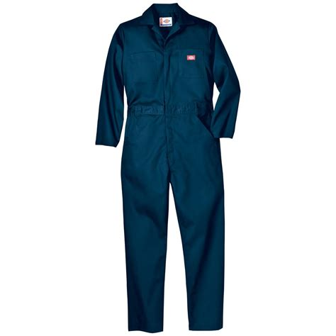 Overall By Navy dickies 174 basic twill sleeved coveralls navy