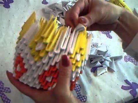 tutorial origami 3d lebada cu model cu romburi cum se face o lebădă din origami tutorial explicat 238 n