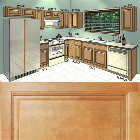 all wood kitchen cabinets 10x10 rta richmond