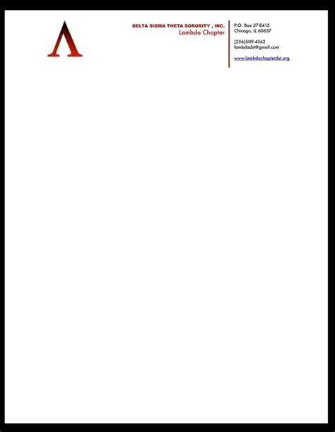 letterhead text template letterhead exle avt 311 project 4 corporate caign replacement