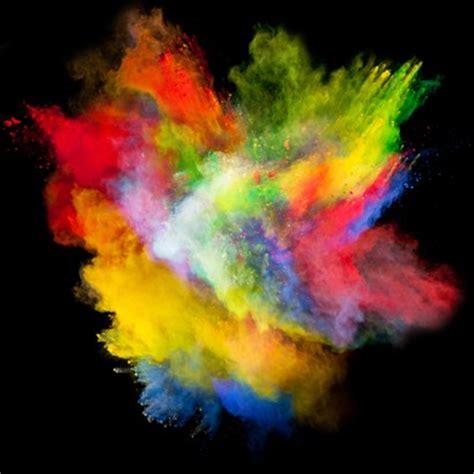 Uv reactive neon holi powder