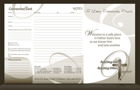 bulletin layout template 8 best images of free printable church program design