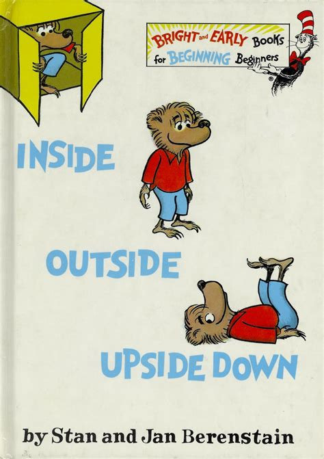 inside outside books book 6 inside outside the berenstain