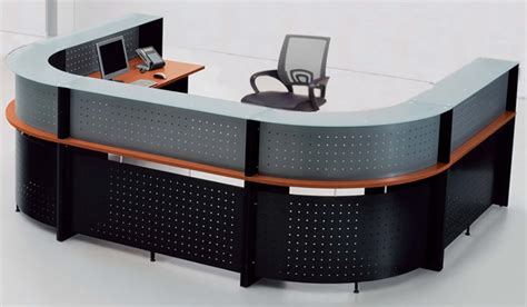 2 person reception desk u shaped 2 person glass top reception desk