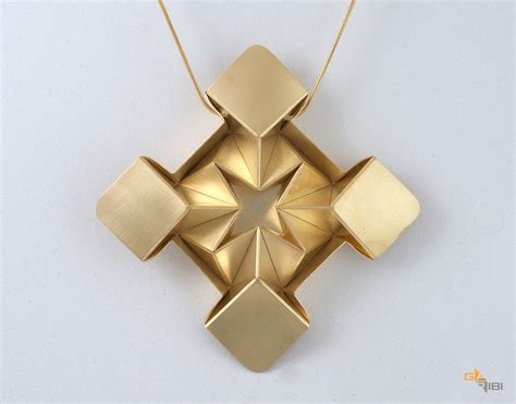 Origami Jewellry - beautiful origami jewelry