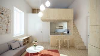 Interior Home Spaces designing for super small spaces 5 micro apartments