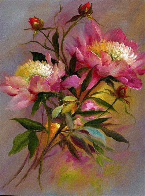 paintings of flowers 204 best images about art floral garden paintings on