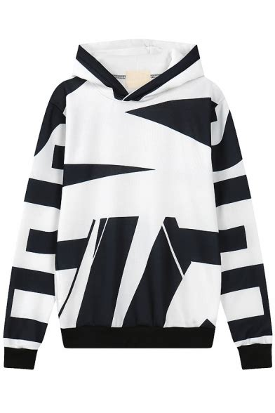 Sleeve Color Block Hooded Top hooded sleeve color block sweatshirt beautifulhalo