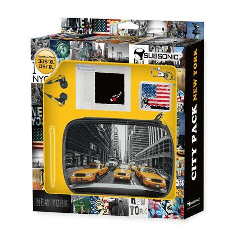 New York City Xl subsonic new york city pack xl nintendo 3ds xl et dsi xl
