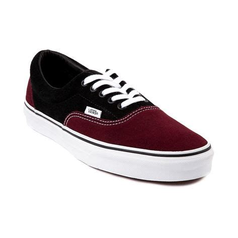 Vans Skool Merah Putih plain shoes