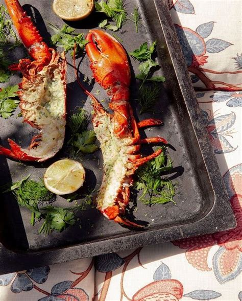 Homard Grille by Homard Grill 233 Au Barbecue Pour 2 Personnes Recettes