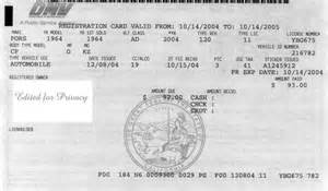 new car registration fee california registration card dmv
