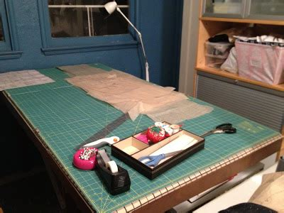 Table Top Cutting Mat by Sewing On Kitchen Table New Cutting Table It S For