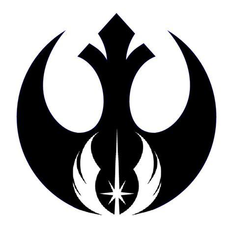 Wars Rebel Symbol Outline by Rebel Alliance Jedi Order 2 By Boosh2001 On Deviantart