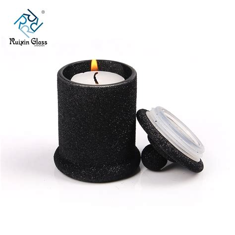 colored jars wholesale china wholesale colored candle jar with lid and colored