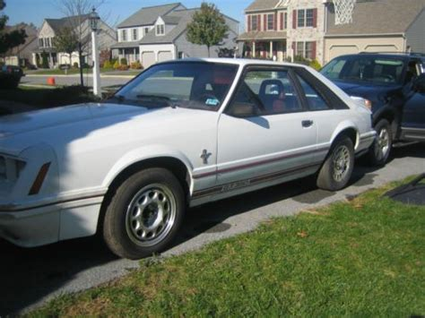 how it works cars 1984 ford mustang lane departure warning purchase used 1984 ford mustang gt 350 hatchback in wyoming pennsylvania united states for us