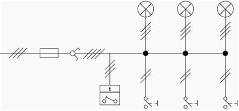 lighting single line diagram lighting circuits connections for interior electrical