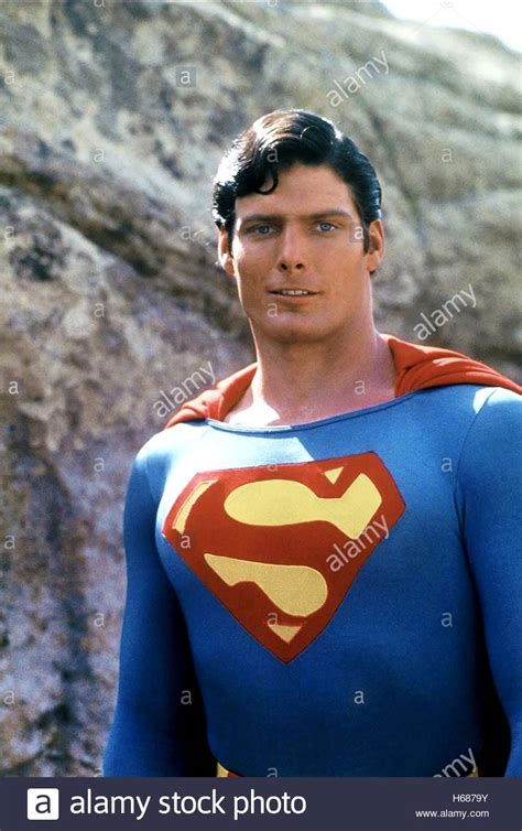 christopher reeve as superman christopher reeve superman 1978 stock photo royalty free