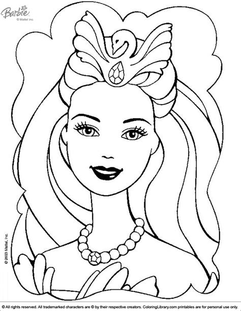 Coloring In Pictures Barbie Coloring Picture by Coloring In Pictures