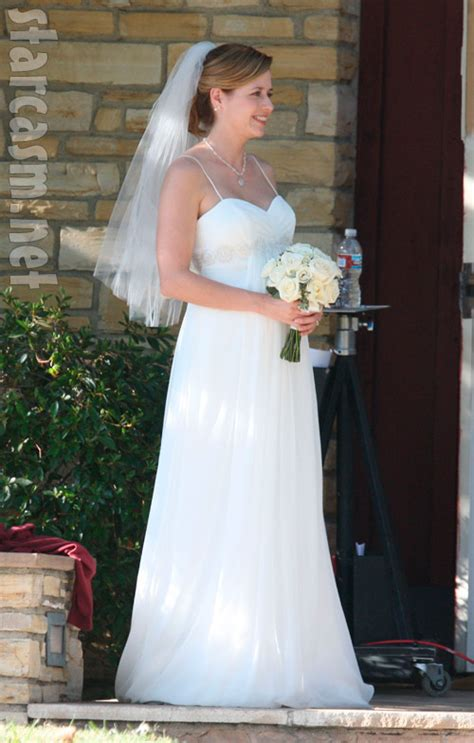 jim  pam   office wedding pictures jenna