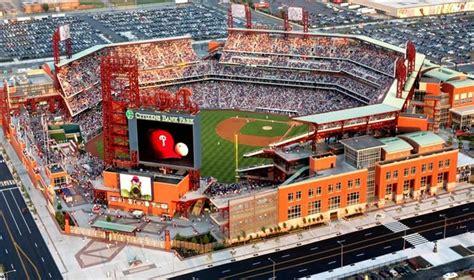 citizens park bank pro sports stadium review citizens bank park