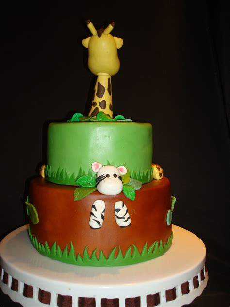 Safari Baby Shower by Safari Baby Shower Cakecentral