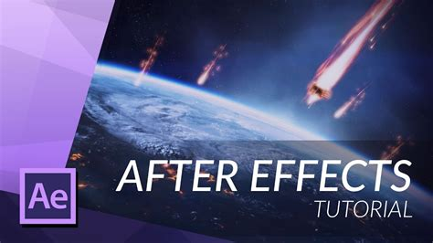 tutorial after effect trapcode particular how to create a meteor fly by after effects tutorial