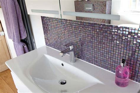 mauve bathroom ripples bathrooms mauve by design