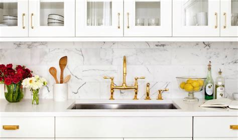 how to use marble in your vintage kitchen decor