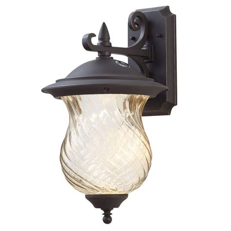 Outdoor Lights With Photocell Defiant 120 277 Volt Programmable Twist Lock Photocell Ez 342c The Home Depot