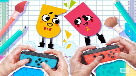 Nintendo Switch Switch Snipperclips Plus Cut It Out Together Us pictures of snipperclips cut it out together 7 10