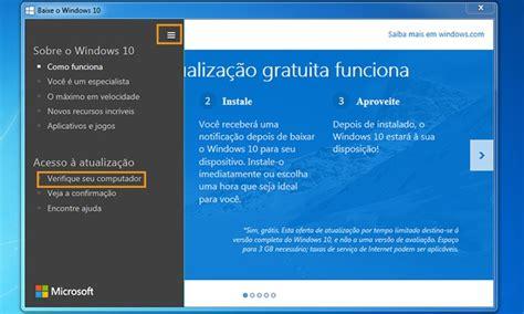 tutorial windows 10 como usar tutorial como usar upgrade advisor e checar se
