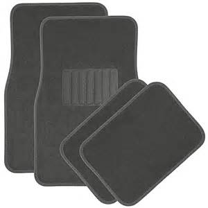 Floor Mats In Car Car Floor Mats For Auto 4pc Carpet Semi Custom Fit Heavy