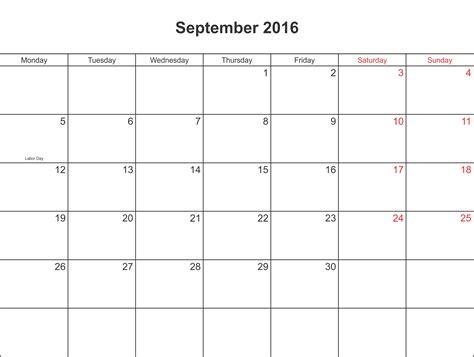 printable monthly calendar september 2016 september 2016 calendar printable with holidays pdf and jpg