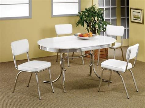 retro style dining table and chairs 2 tone oval dining tables and chairs 50 s style oval
