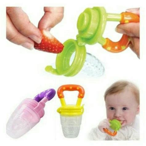 Food Feether Empeng Dot Buah Baby baby fruit pacifier baby food feeder empeng buah baby